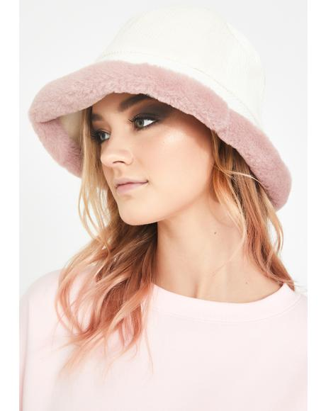 Pretty Doll Baby Corduroy Bucket Hat