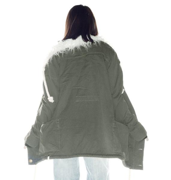 One Teaspoon Defender Duffle Coat