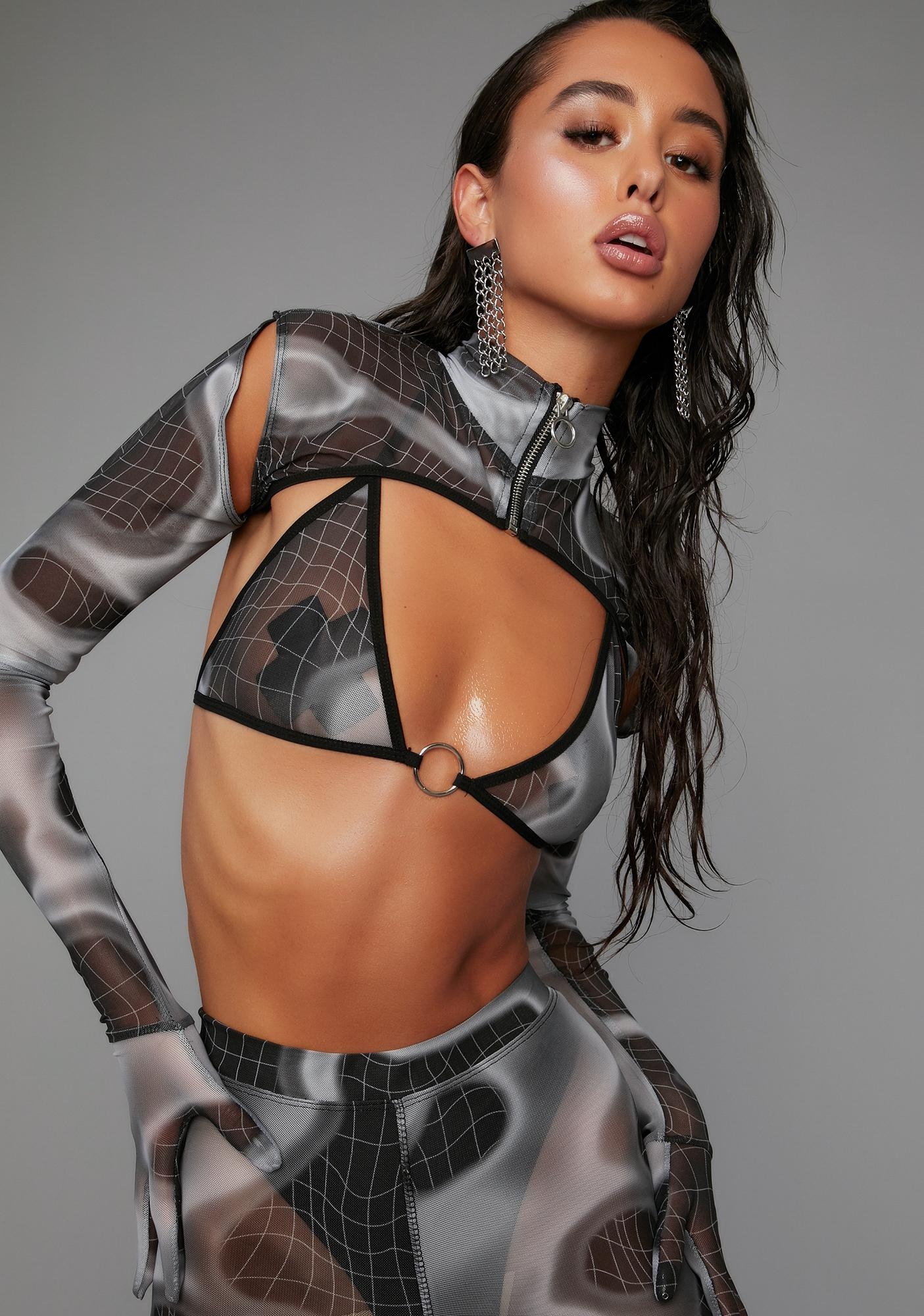 Poster Grl Back On Top 3 Piece Mesh Set