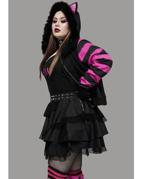 Miss Shadow Dancer Layered Ruffle Skirt