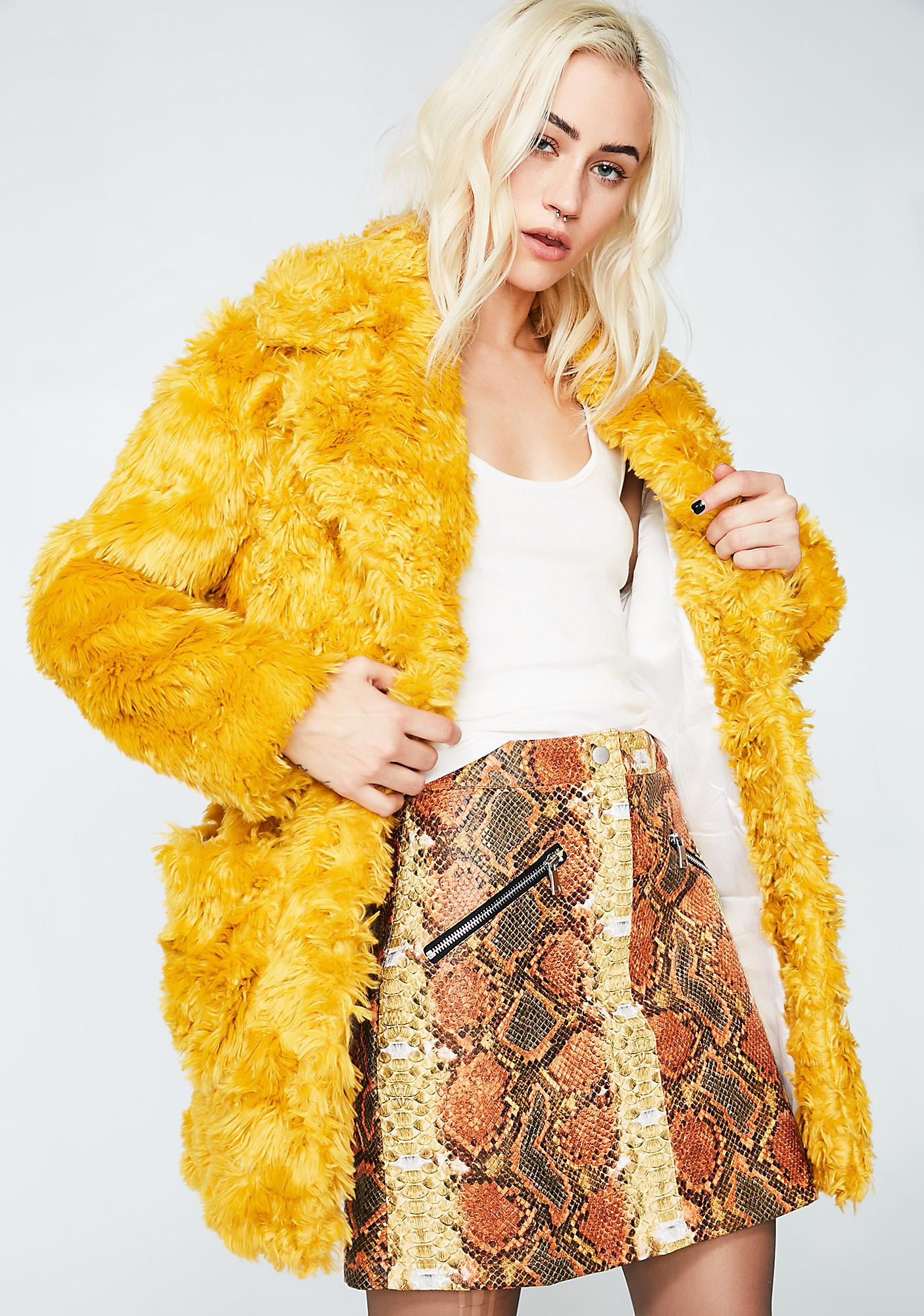 Glamorous  I Purr Coat