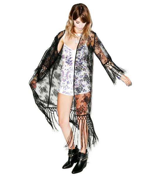 The Morrigan Kimono