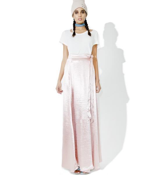 Adagio Satin Wrap Skirt