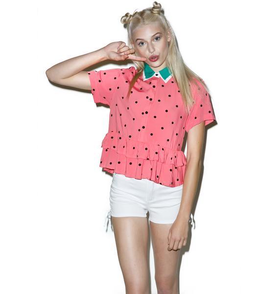 Lazy Oaf Watermelon Shirt
