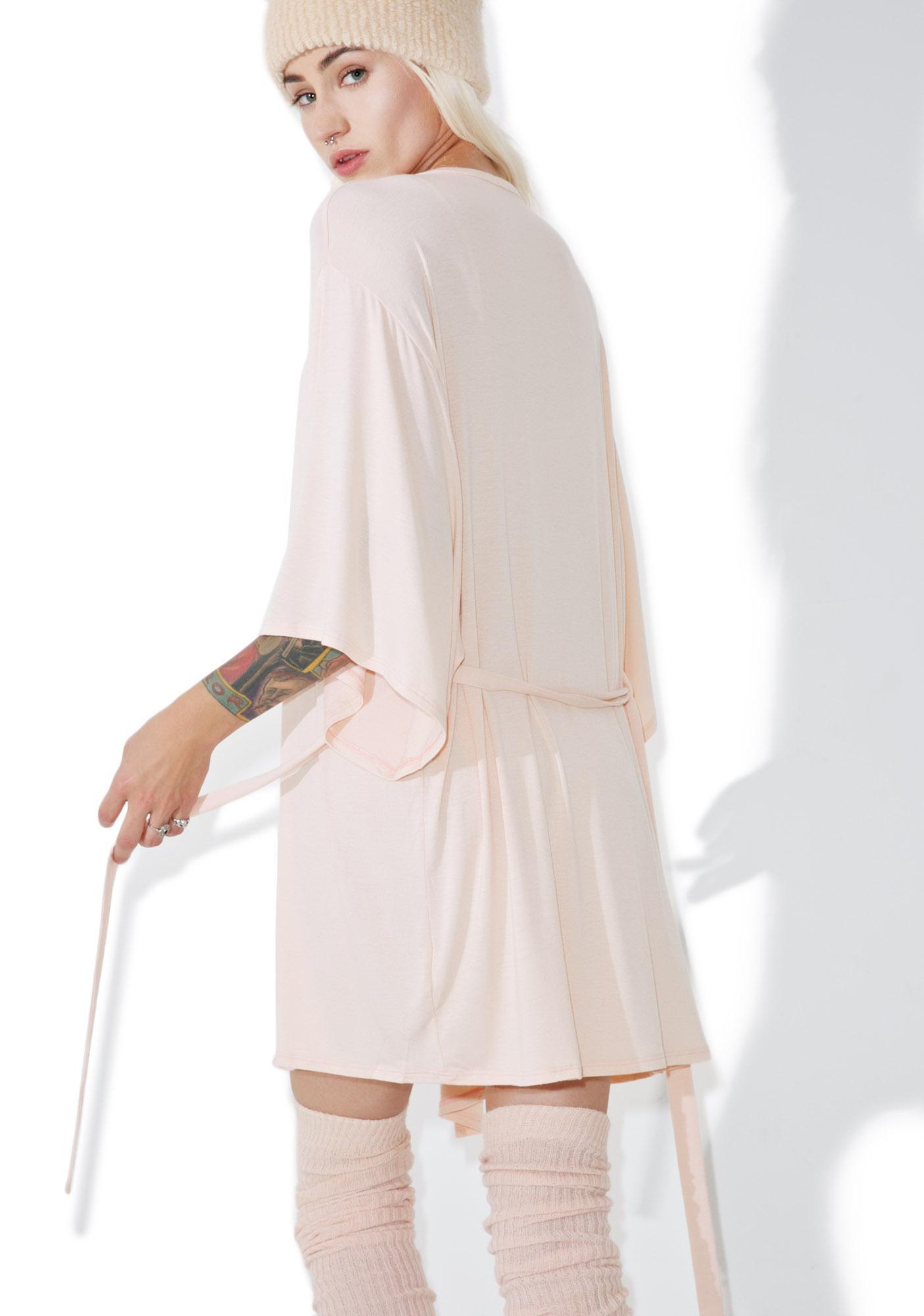 Wildfox Couture Logo Kimono Robe