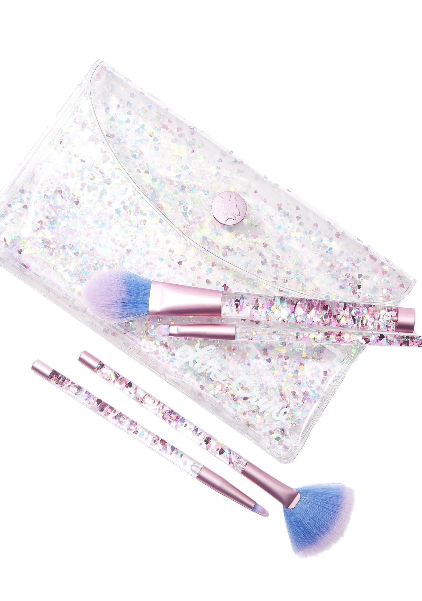 Lime Crime Aquarium Liquid Glitter Brush Set