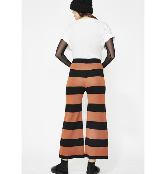 On The Horizon Stripe Culottes