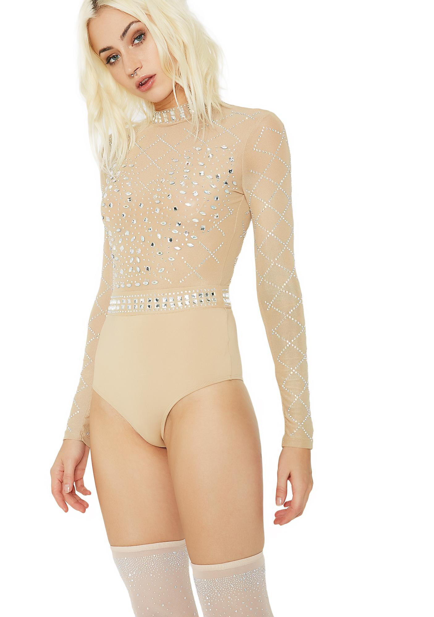 She's Toxic Embellished Bodysuit