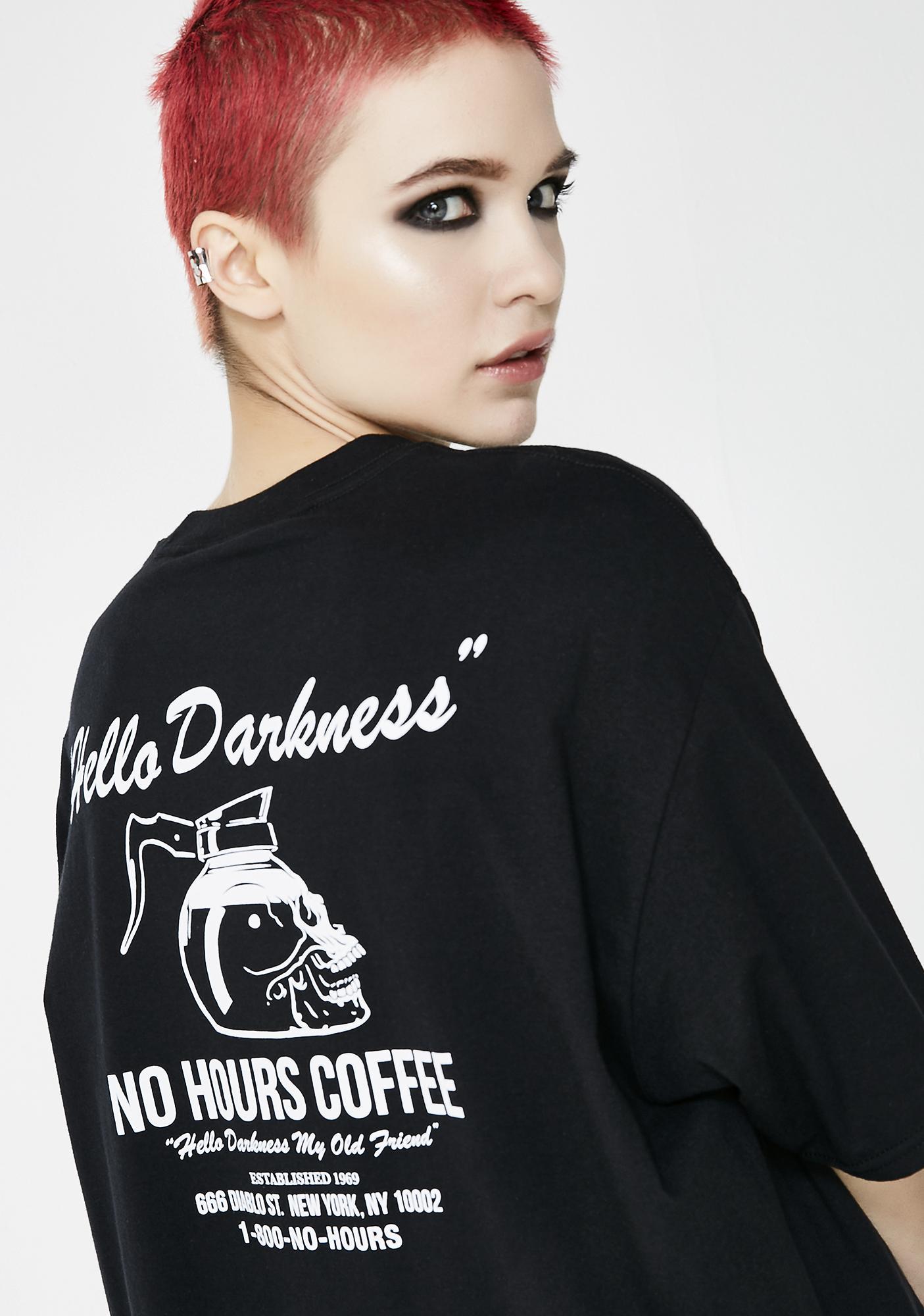 No Hours Darkness Short Sleeve Tee
