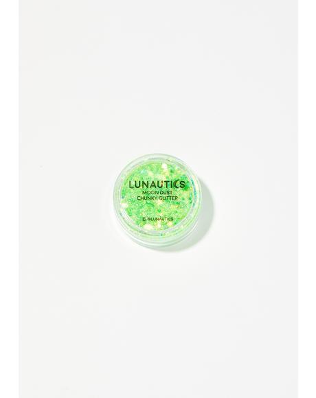 Slime Moon Dust UV Reactive Glitter