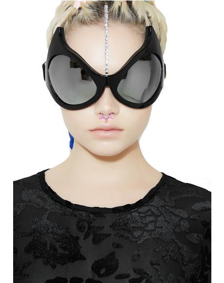 Feline Ferocity Cat Eye Goggles
