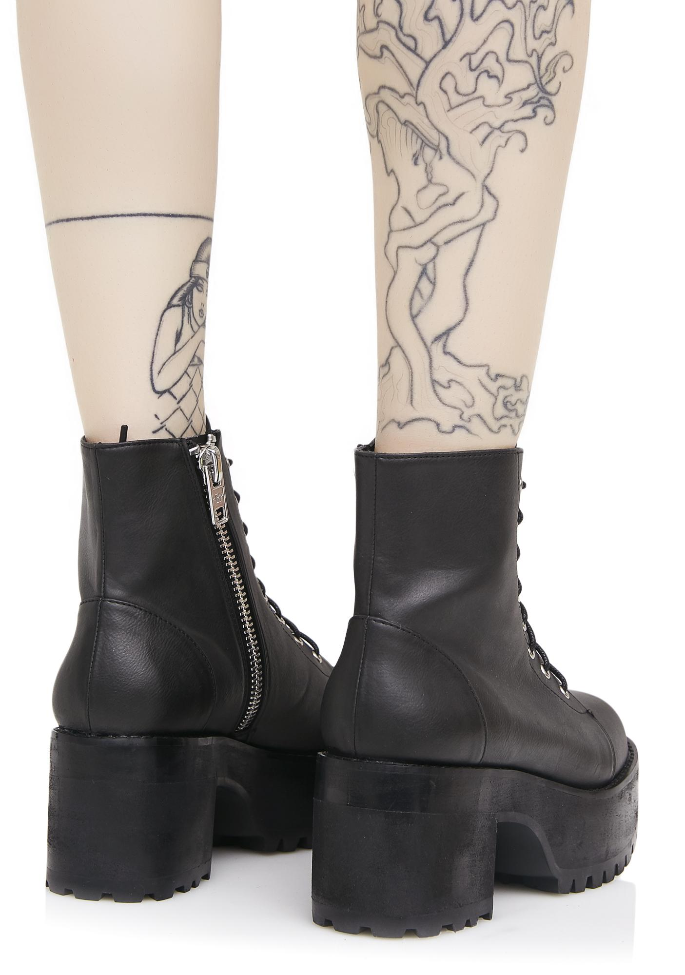 Current Mood Raven Boots