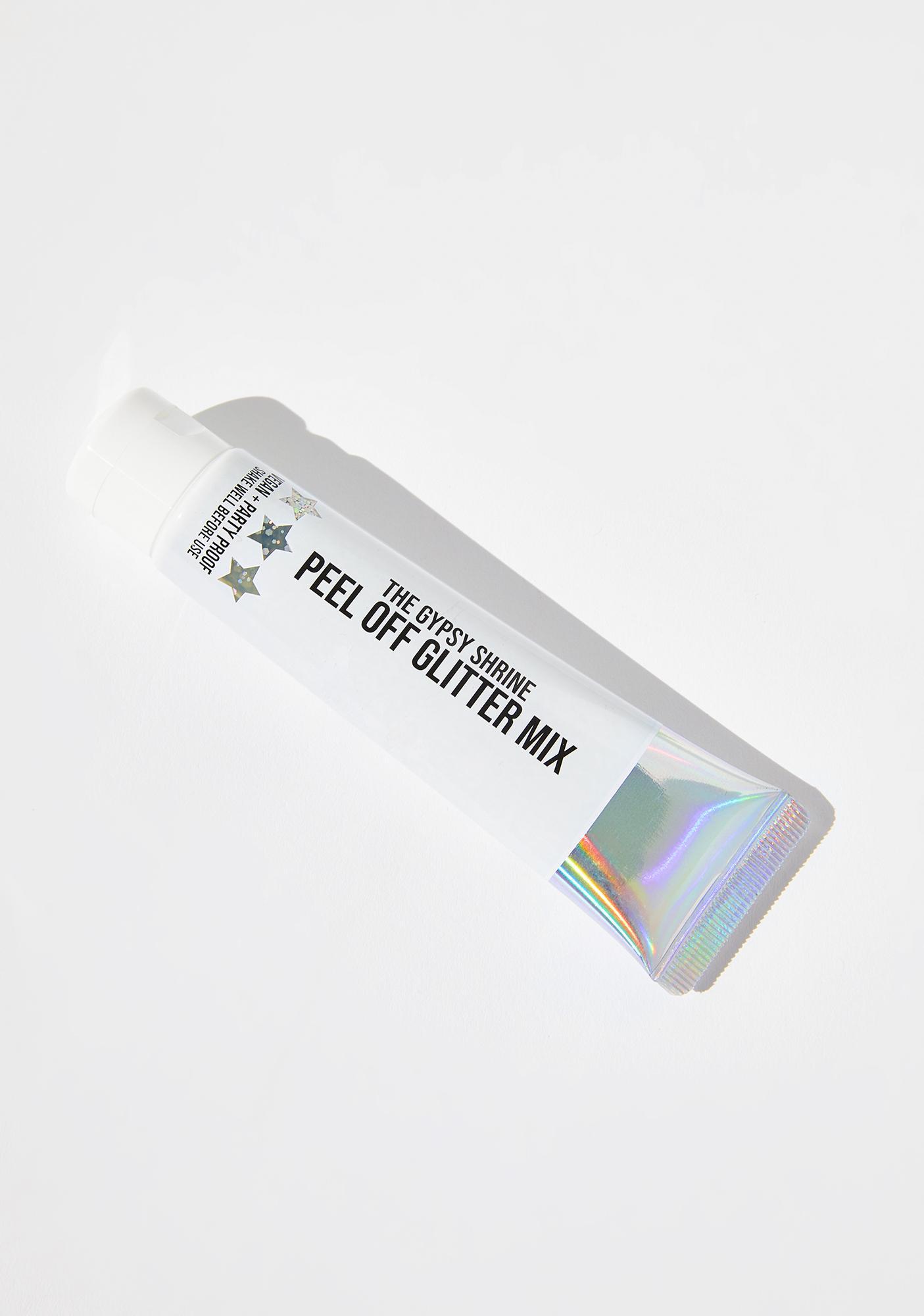SHRINE Silver Peel Off Glitter Mix Gel