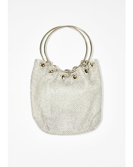 Boujee Beverly Rhinestone Bag