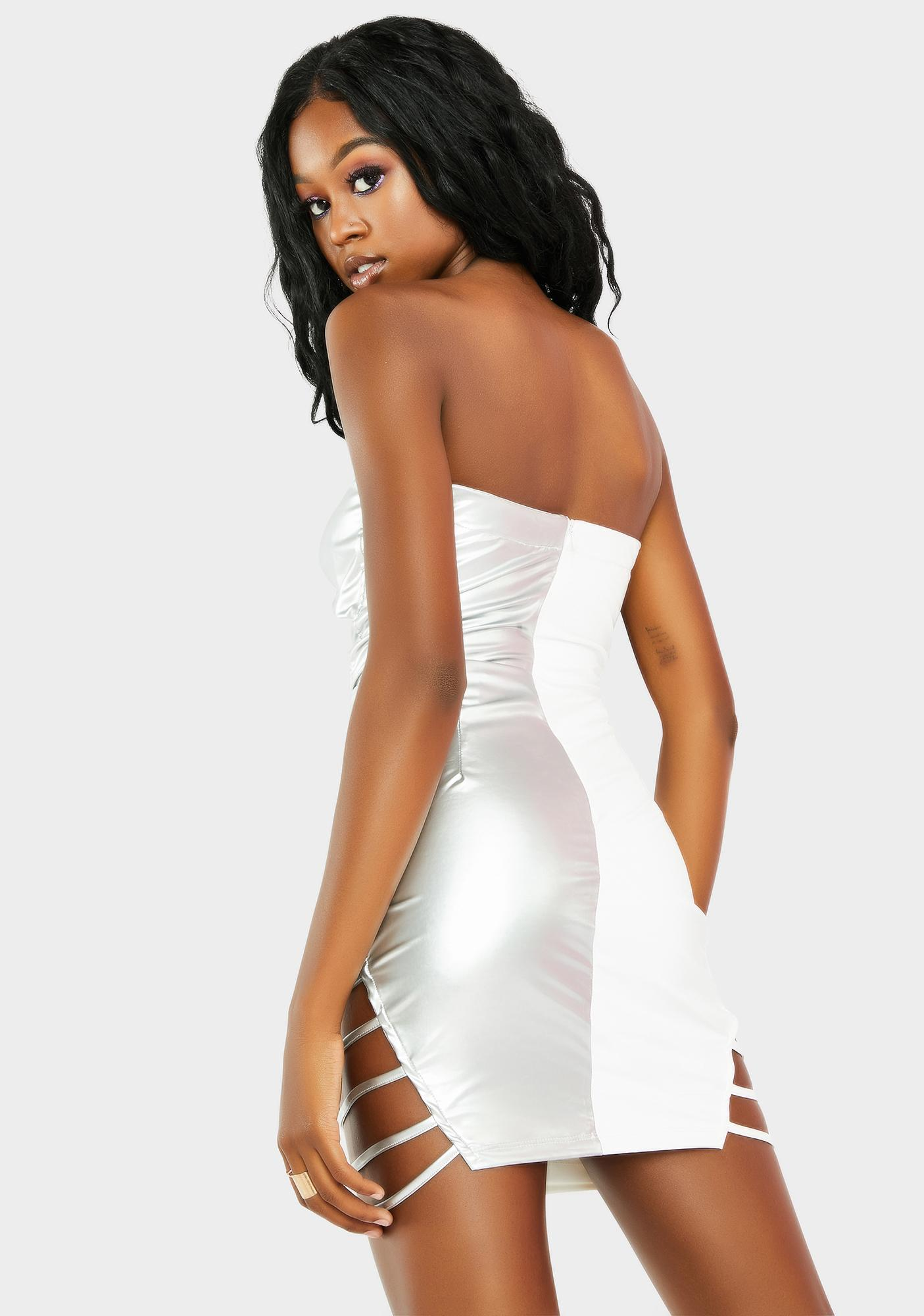 Pure Undivided Attention Strapless Dress