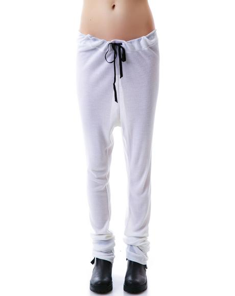 Baby Thermal Draped Sweatpants