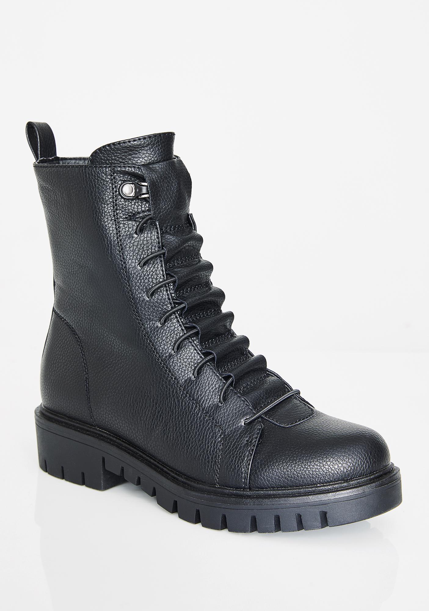 Gotham Sirens Combat Boots
