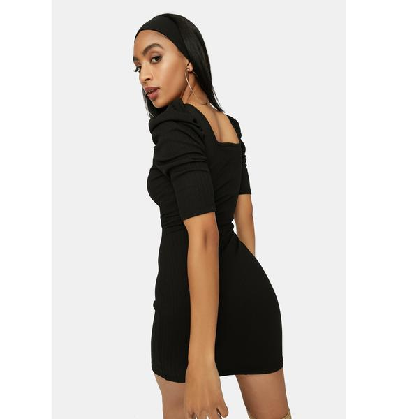 Long Time Coming Bodycon Dress