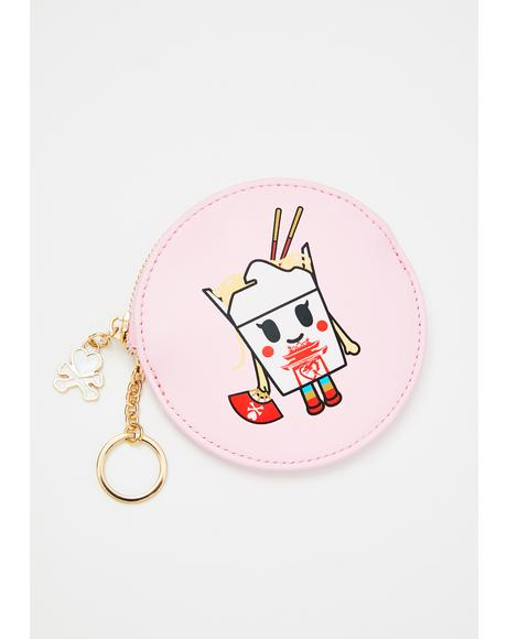 Toki Takeout Coin Purse Keychain