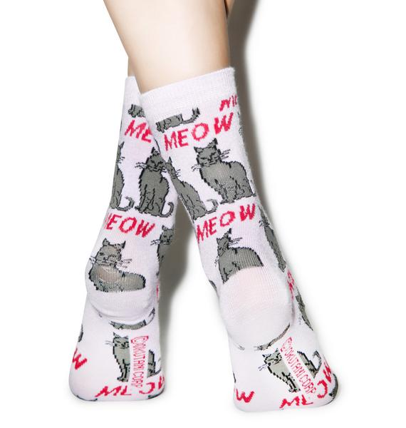 Cat's Meow Ankle Socks