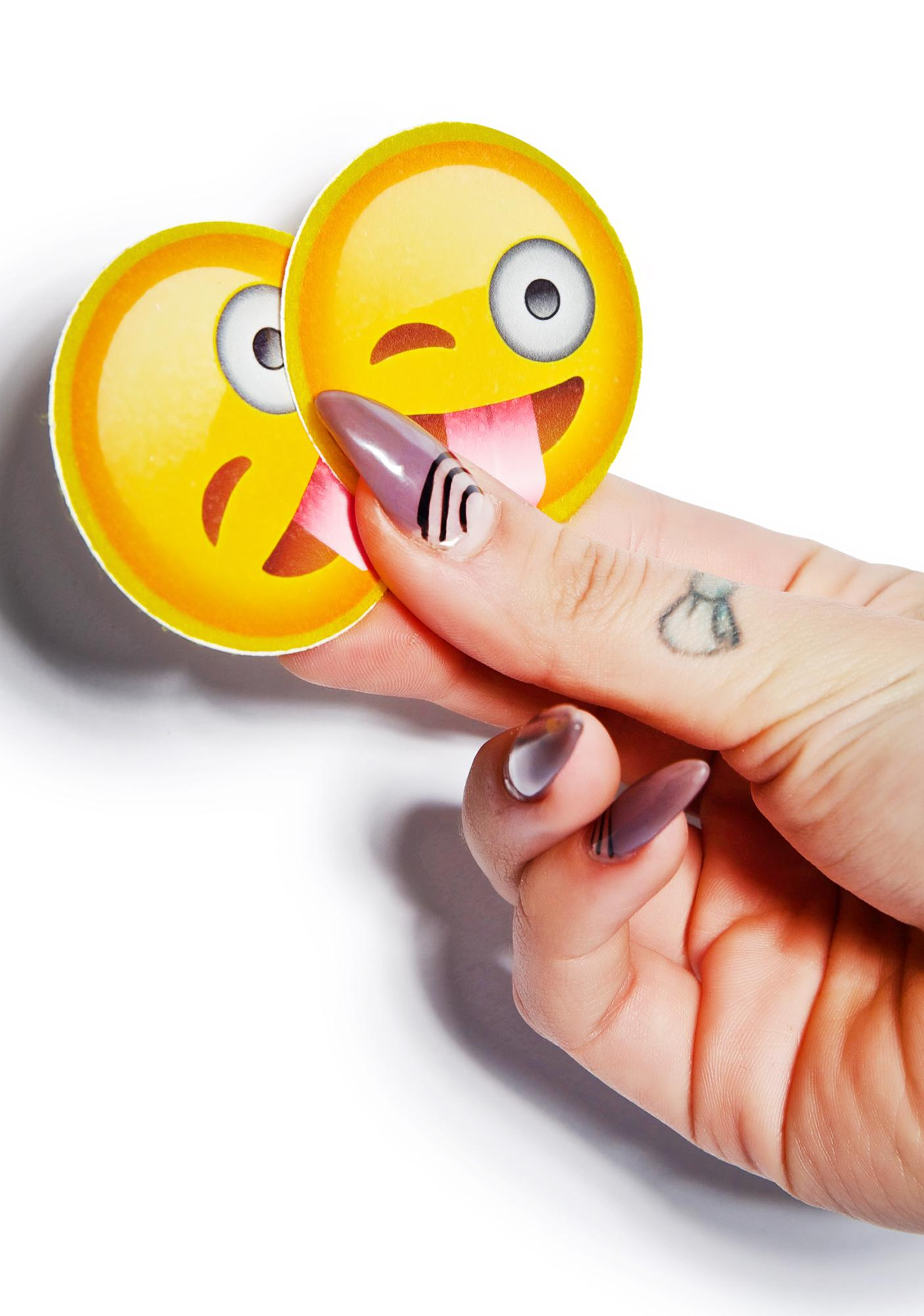 Crazy Face Emoji Pasties