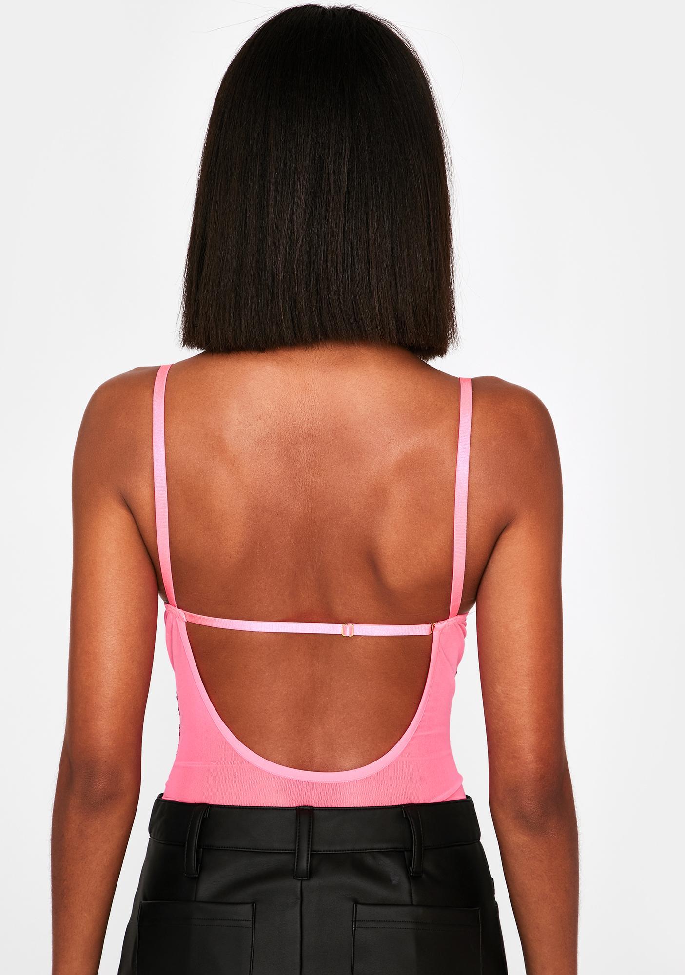 In My Own Lane Lace Bodysuit