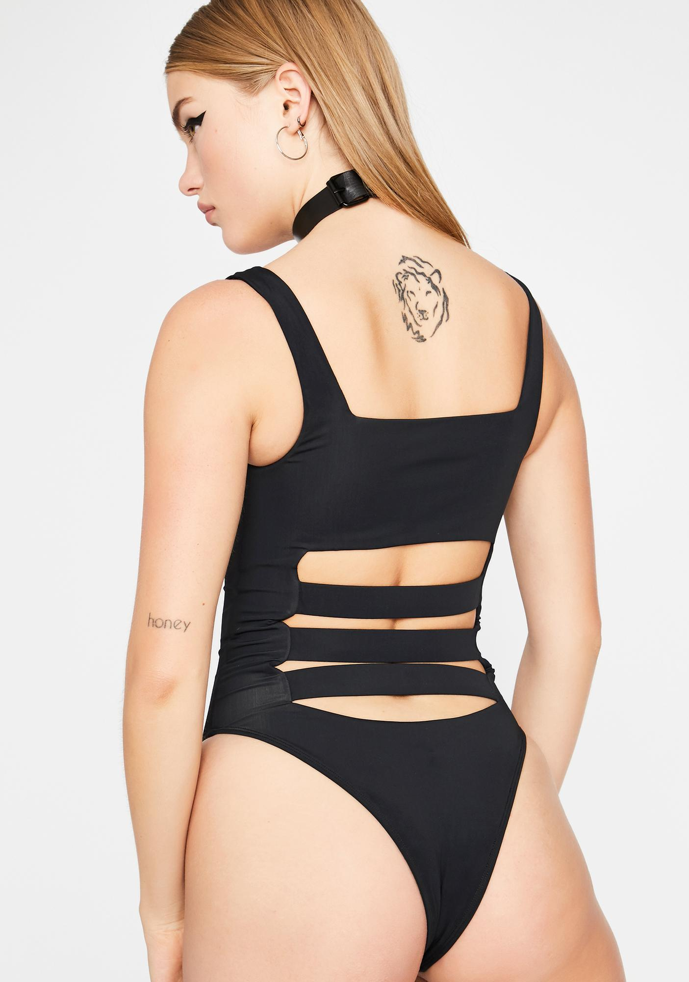 Desperate Measures Cut-Out Bodysuit