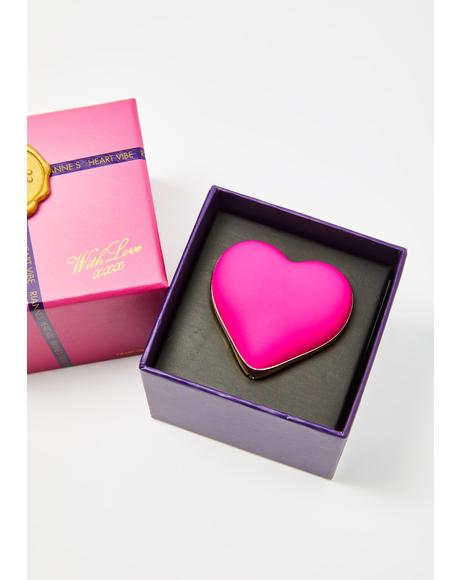 French Rose Heart Vibe Vibrator