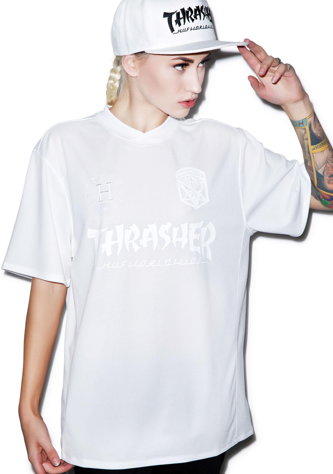 HUF HUF X Thrasher Soccer Jersey 2.0