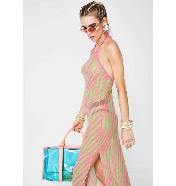 Current Mood Wild Out Maxi Dress