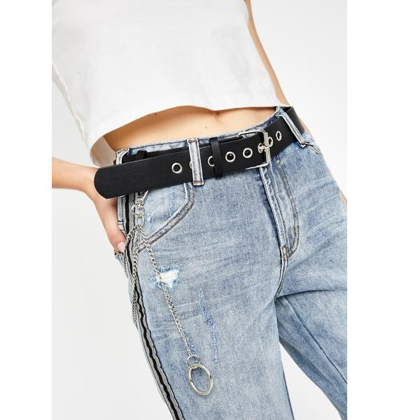 Realer Than U Chain Belt