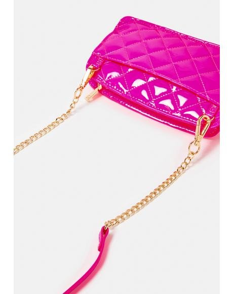 Bright Spot Quilted Crossbody Bag