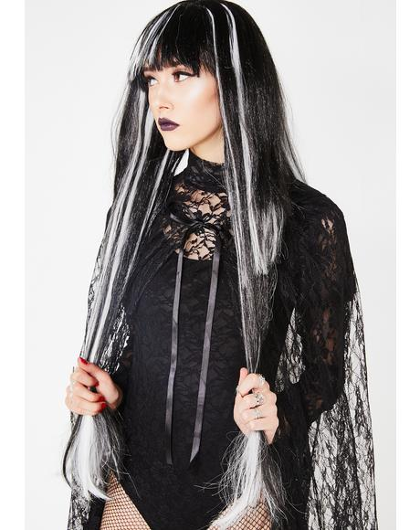 The Haunting Long Wig