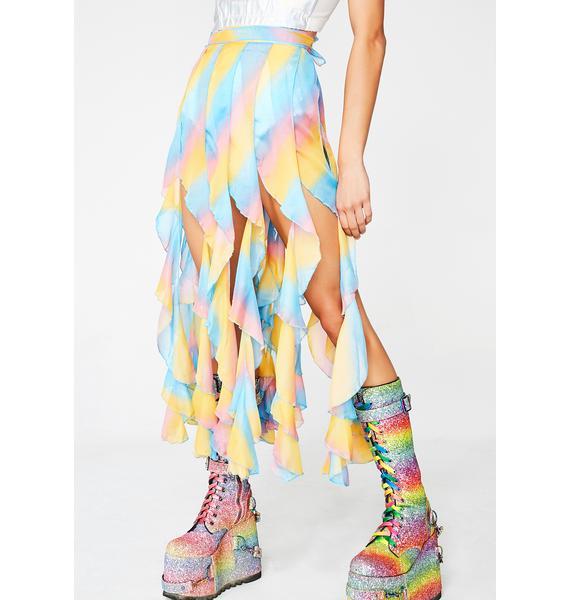 Candy Fierce Femdom Ruffle Skirt