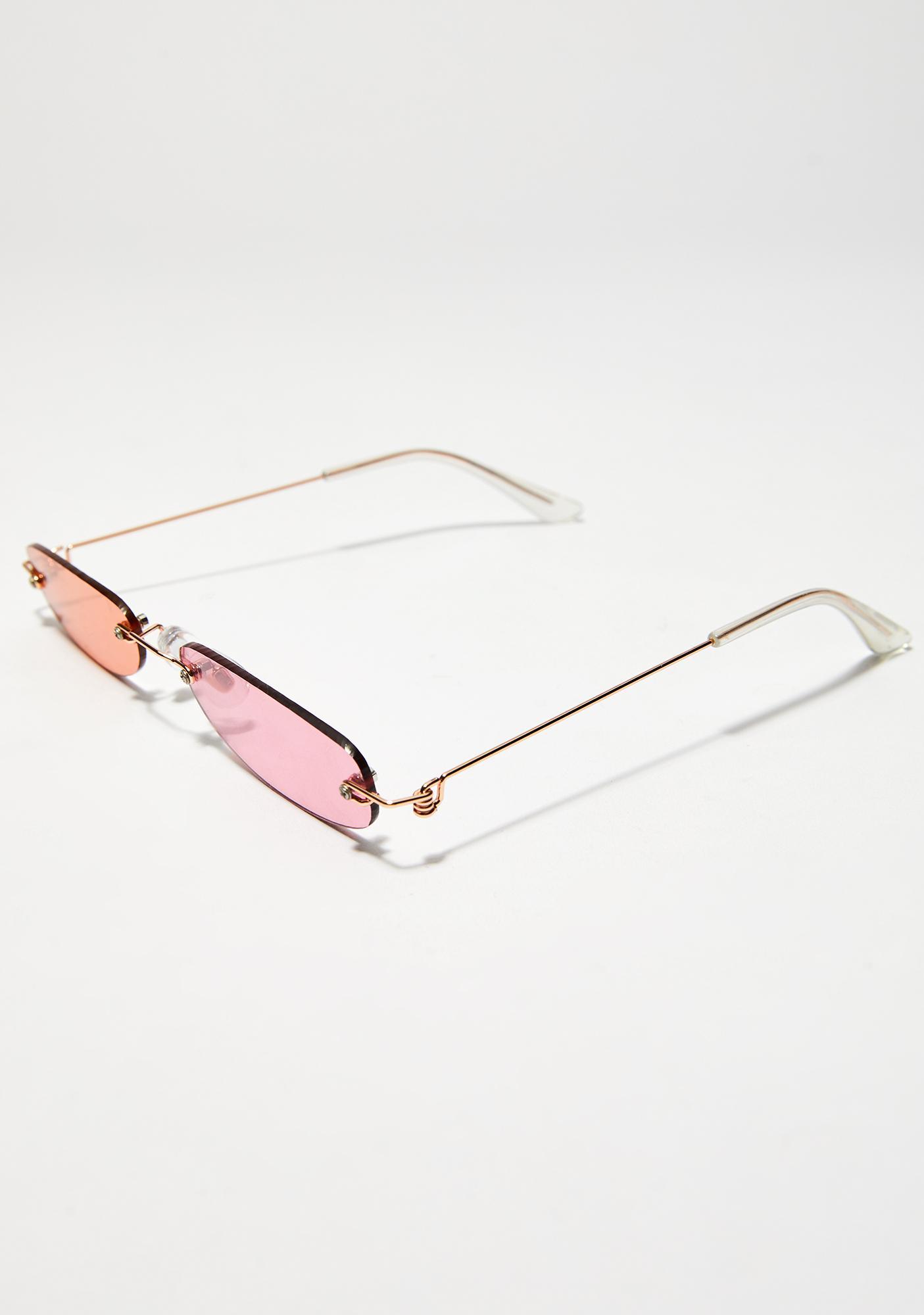 You Da Boss Sweet Skinny Sunglasses