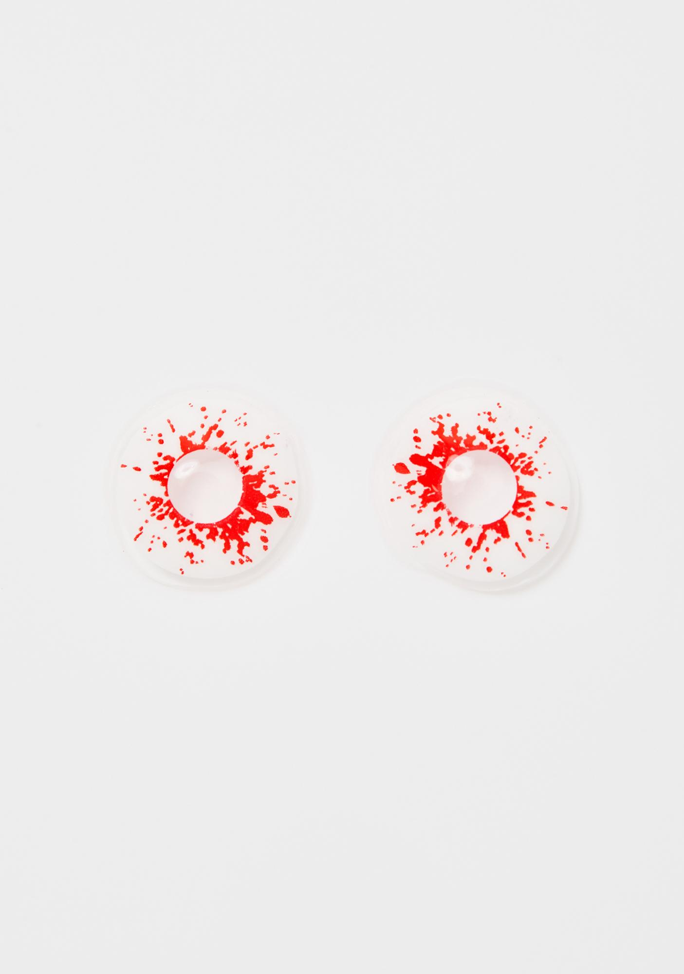 Bloodshot Stare Contact Lenses