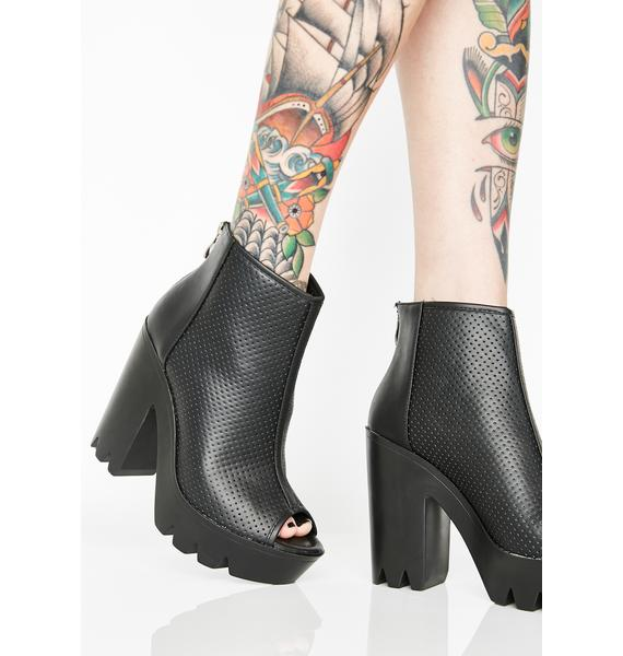Fill The Void Booties