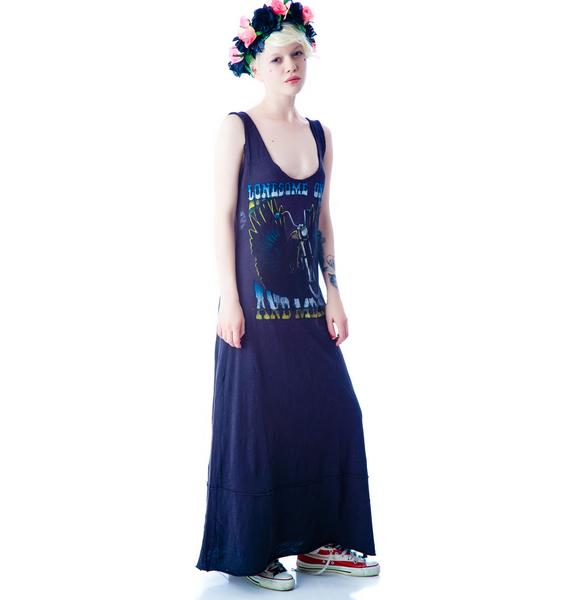Lonesome, On'ry and Mean Maxi Dress