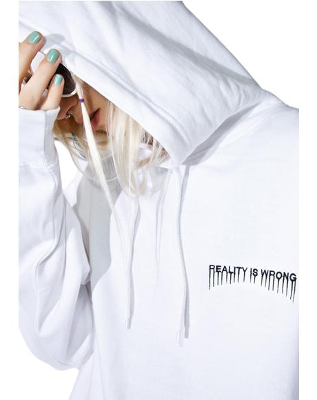 Reality Is Wrong Hoodie