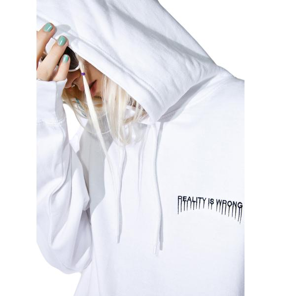 Current Mood Reality Is Wrong Hoodie