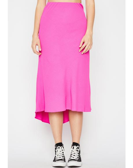 Frenemies Til The End Midi Skirt