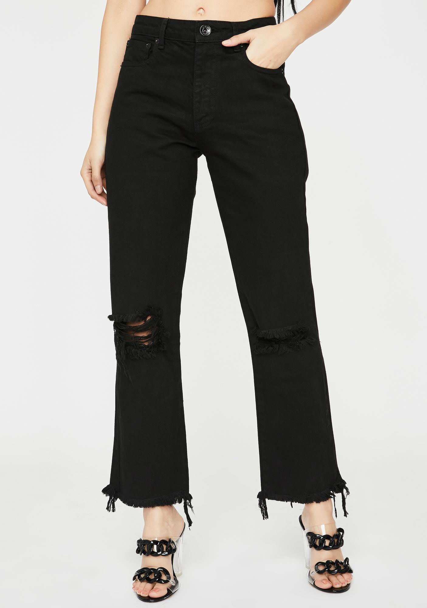 Kiki Riki Get The Picture Distressed Jeans