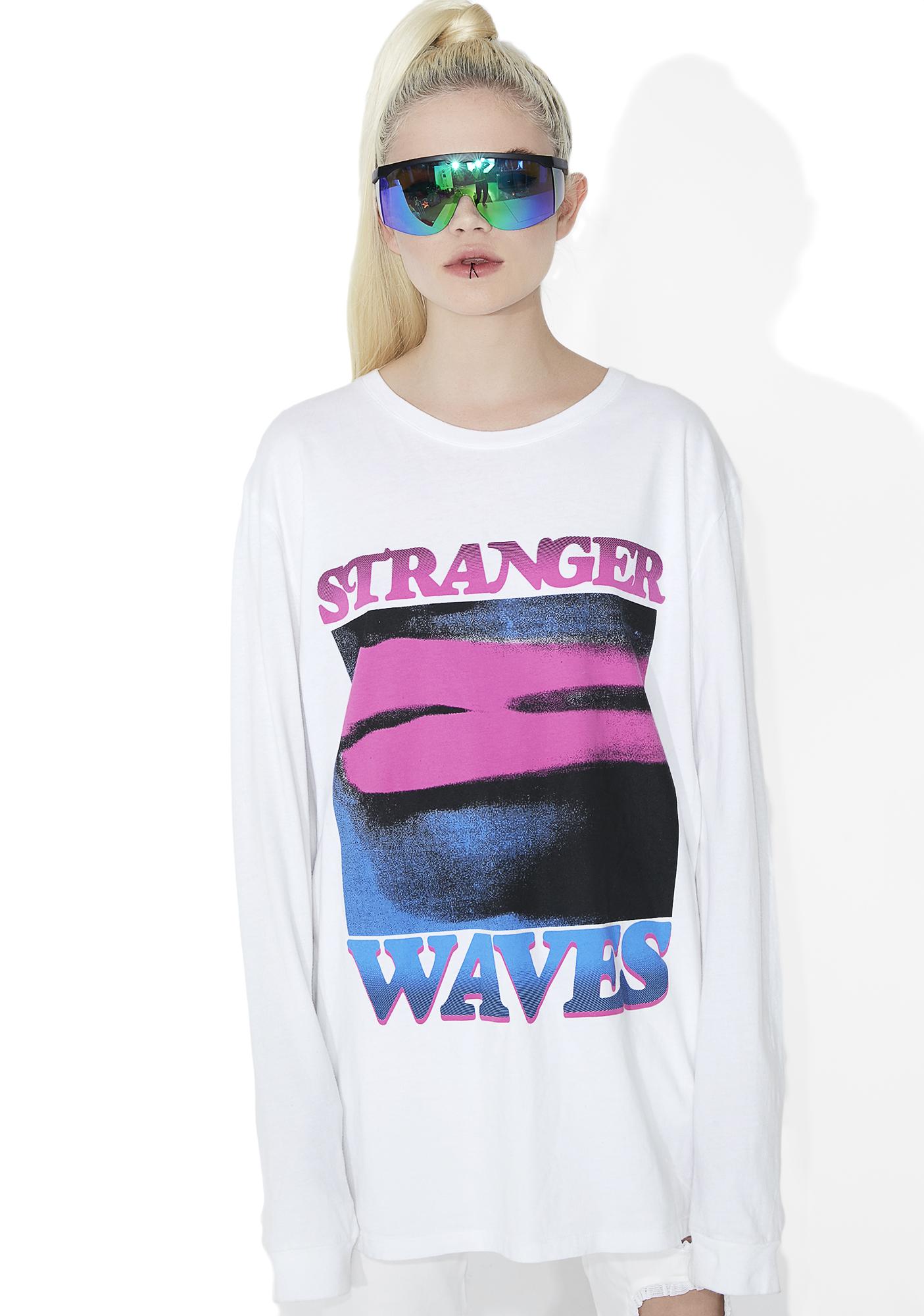 Surf is Dead Lipstick Long Sleeve Tee