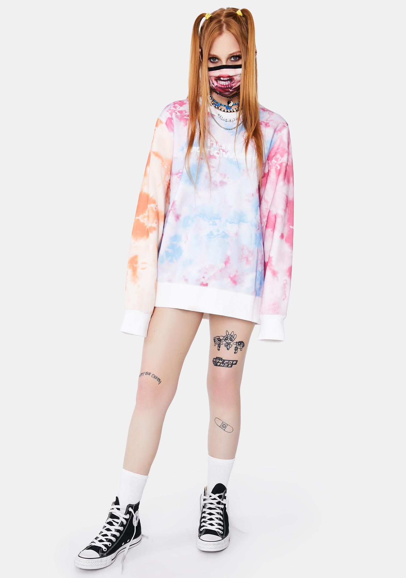 HUF Multi Euphoria Crewneck Sweatshirt
