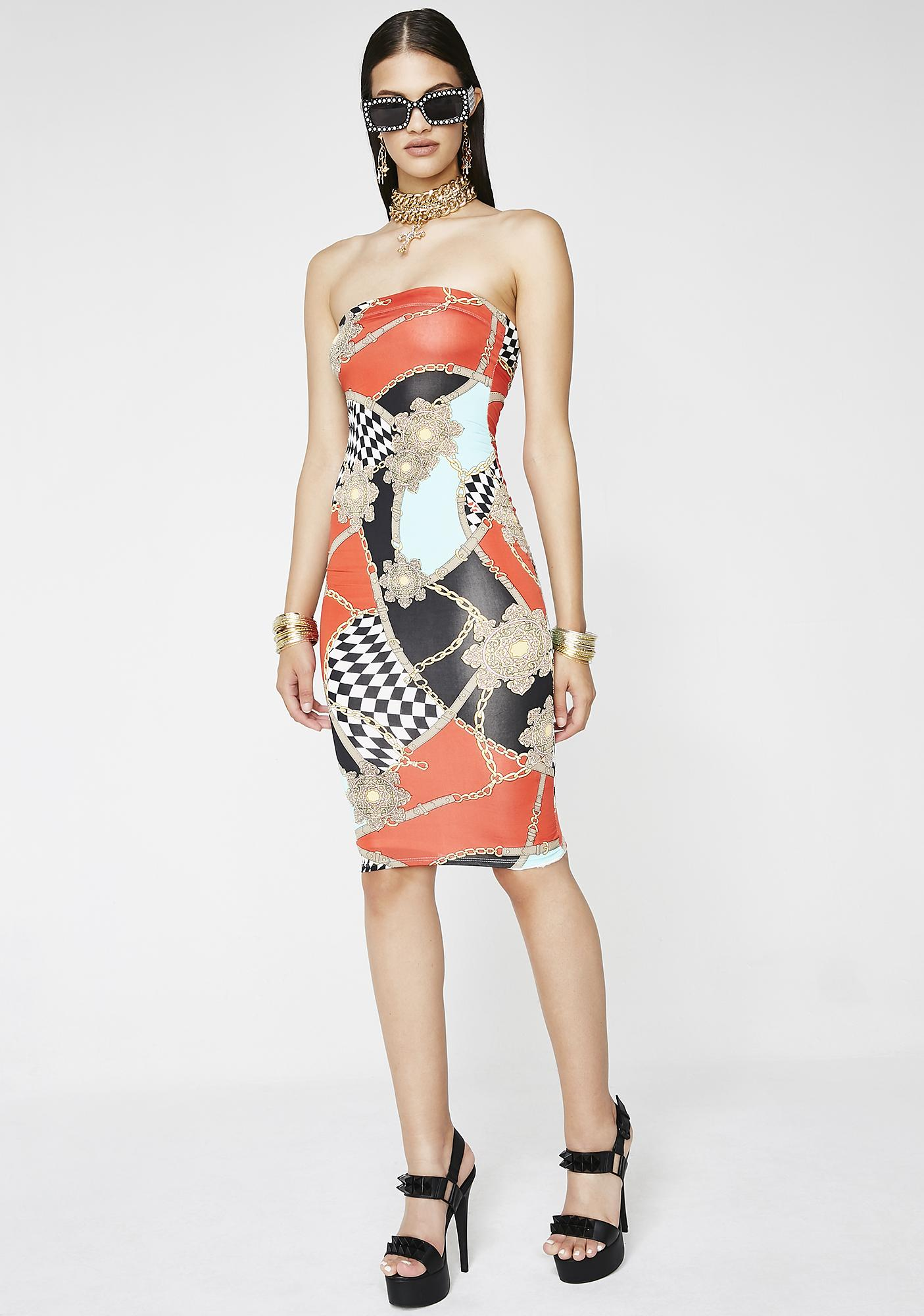 Trophy Wife Midi Dress