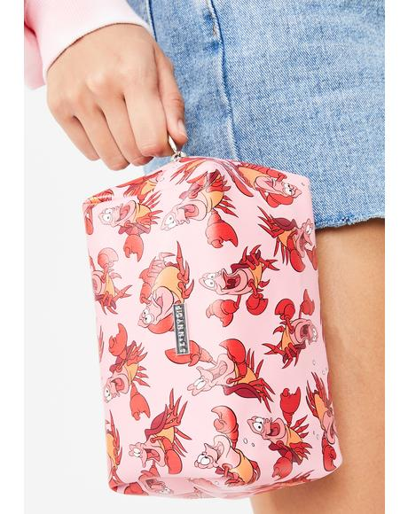 x Disney Sebastian Makeup Bag
