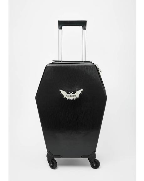 Casket Carry On Suitcase