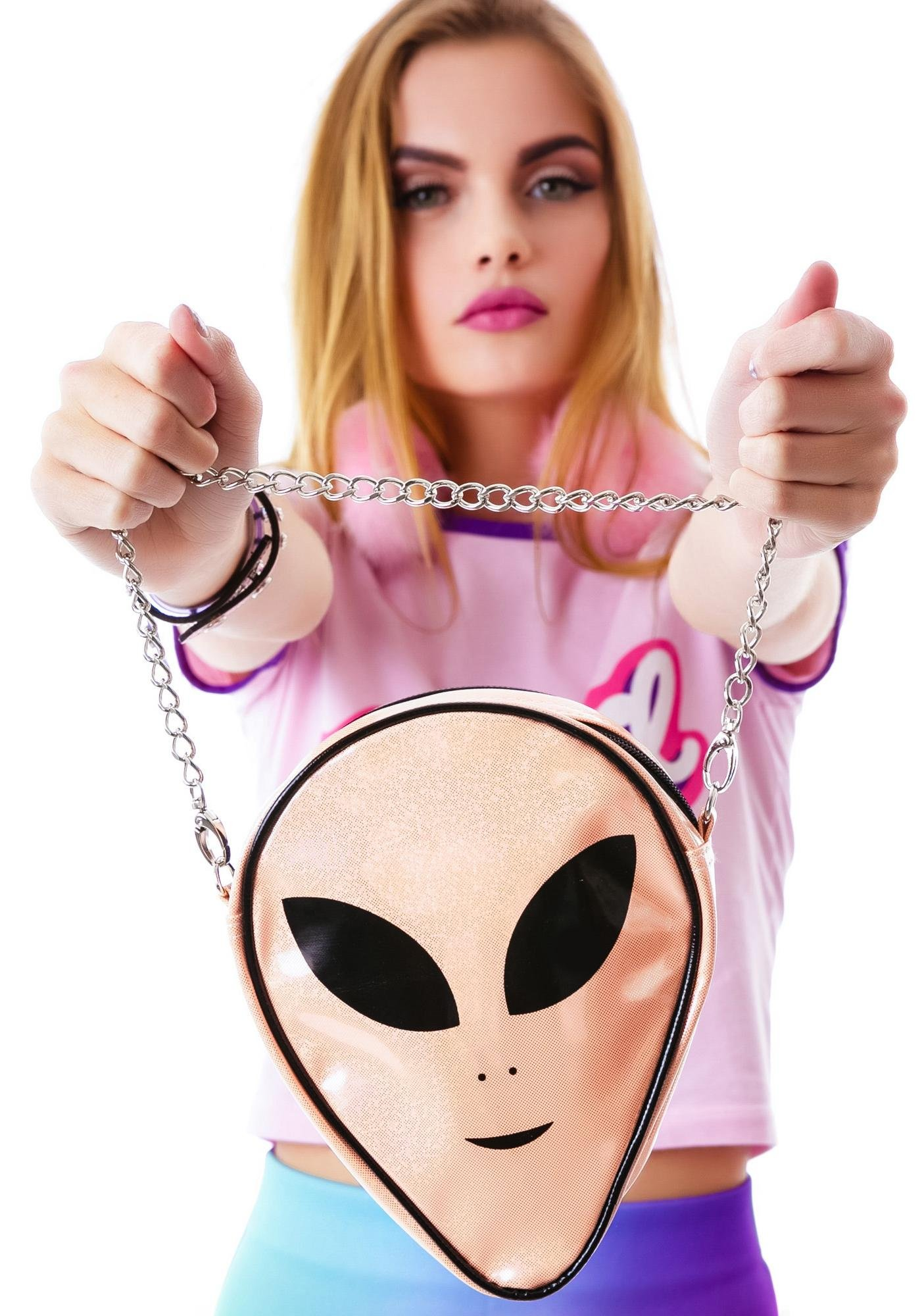 O Mighty The Last Alien Sling Purse