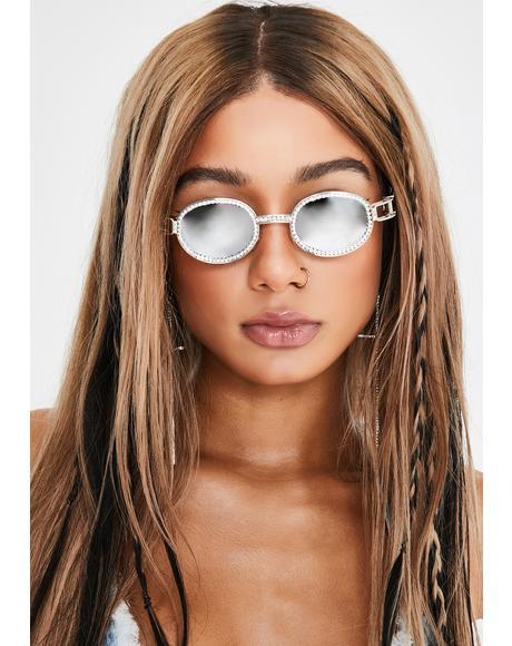 Silverado Sass Rhinestone Sunglasses