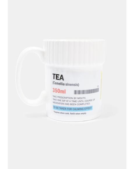 Healthy Habit Pill Bottle Mug